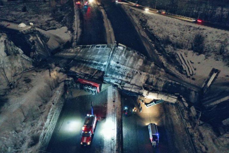 В России регулярно рушатся мосты