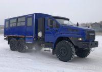 Вахтовые автобусы «Урал» на газовом топливе