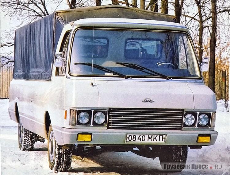 ЗИЛ-230100 - самый маленький грузовик ЗИЛ