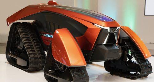 Беспилотный электрический трактор Kubota