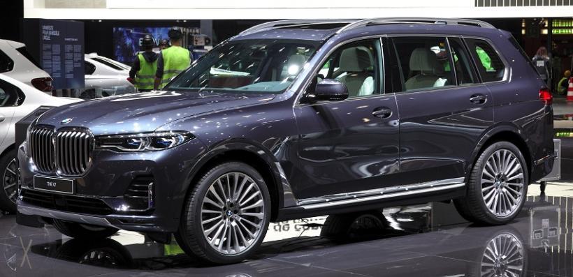 Эксклюзивный пикап BMW X7