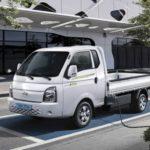 Электрические грузовики Kia Bongo и Hyundai Porter