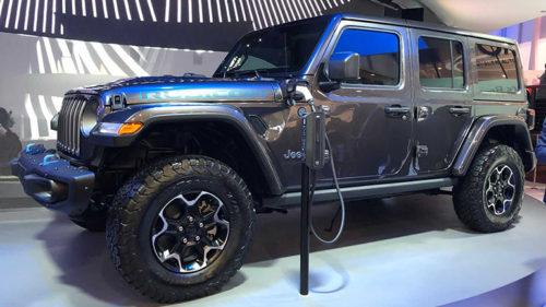 Гибридные версии внедорожников Jeep