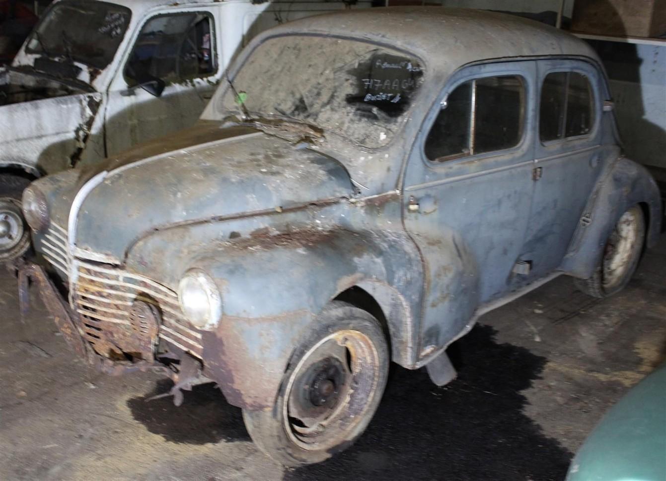 Необычные находки в старых гаражах