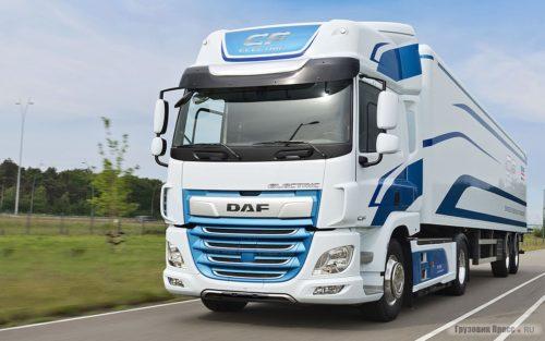 Новые грузовики компании DAF