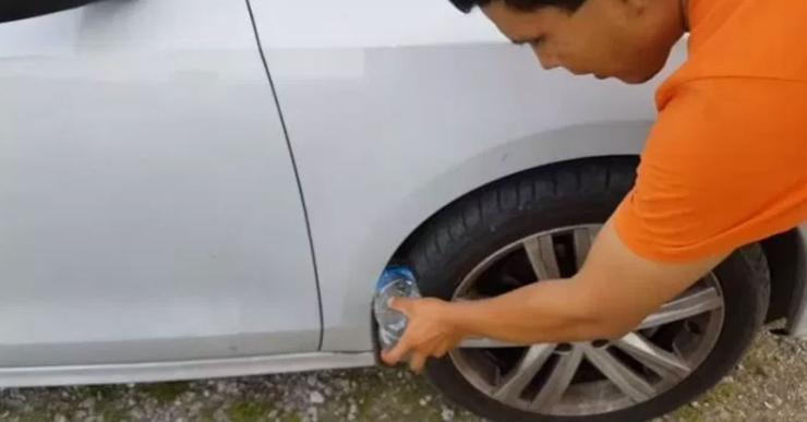 Новый способ грабежа автовладельцев на АЗС и парковках супермаркетов