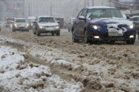 Оттепель зимой губит любую машину