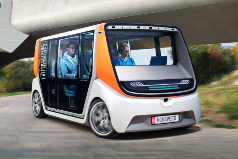Rinspeed MetroSnap - идея сменных кузовов автомобилей
