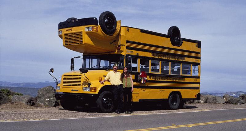 Школьный автобус-перевёртыш Topsy-Turvy