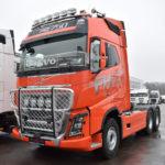 Тягач Volvo для Якутии