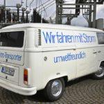 Электрический фургон Volkswagen T2