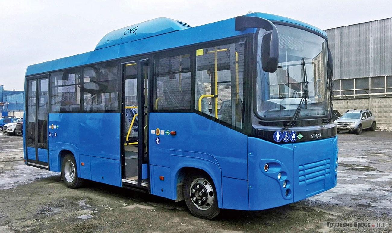 Газомоторный автобус SIMAZ