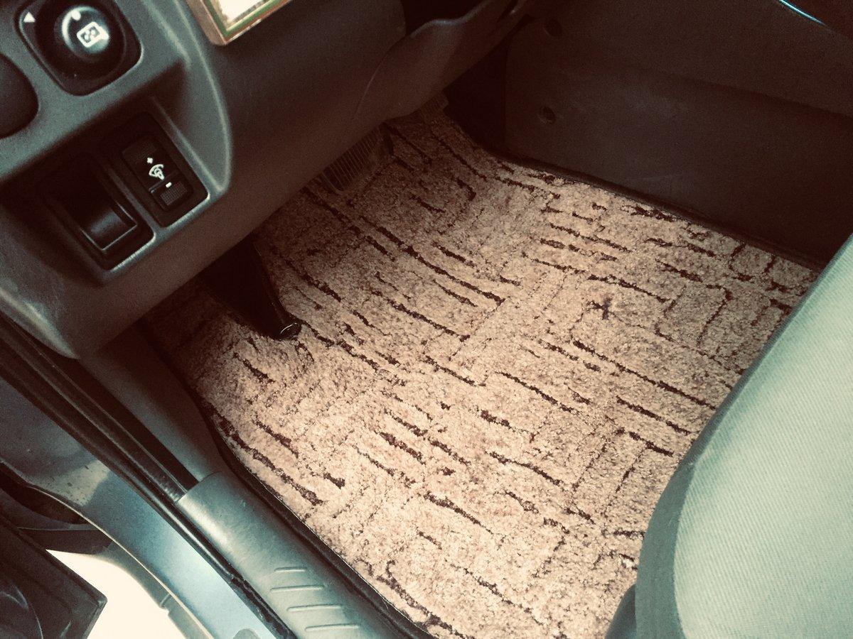 Коврики в машину можно сделать самому