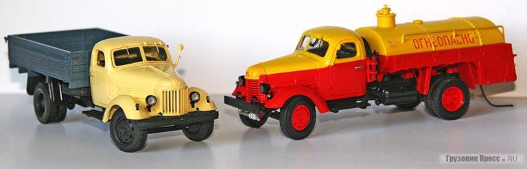 Масштабированные модели советских грузовых автомобилей