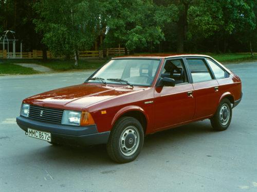 Советский автопром - Москвич-2141