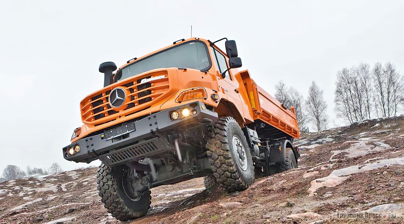 Сверхпроходимый грузовик Mercedes-Benz Zetros