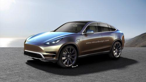 Tesla Model Y - серийный вариант