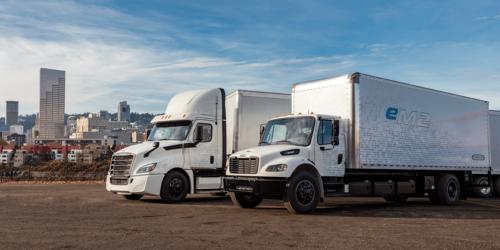Битва за лидерство - электрические грузовики