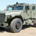 Броневик весом 14,5 тонны «ВПК-Урал»