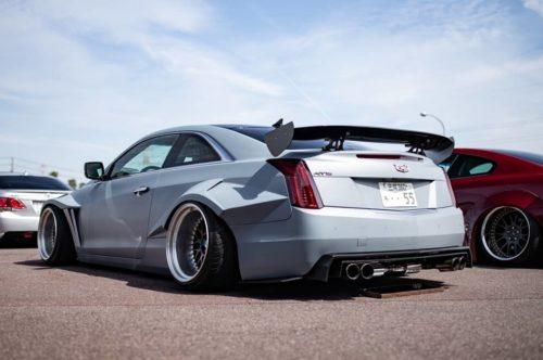 Экстремальный тюнинг купейного Cadillac ATS