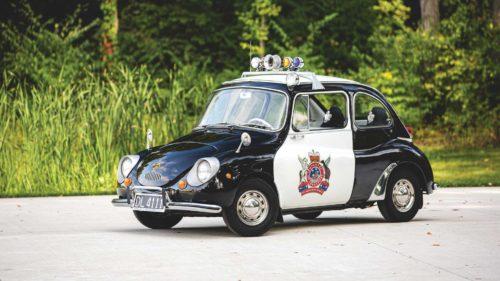 Компактный Subaru 360 - гроза преступного мира