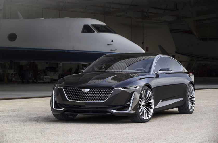 Новый Cadillac за 14 млн рублей