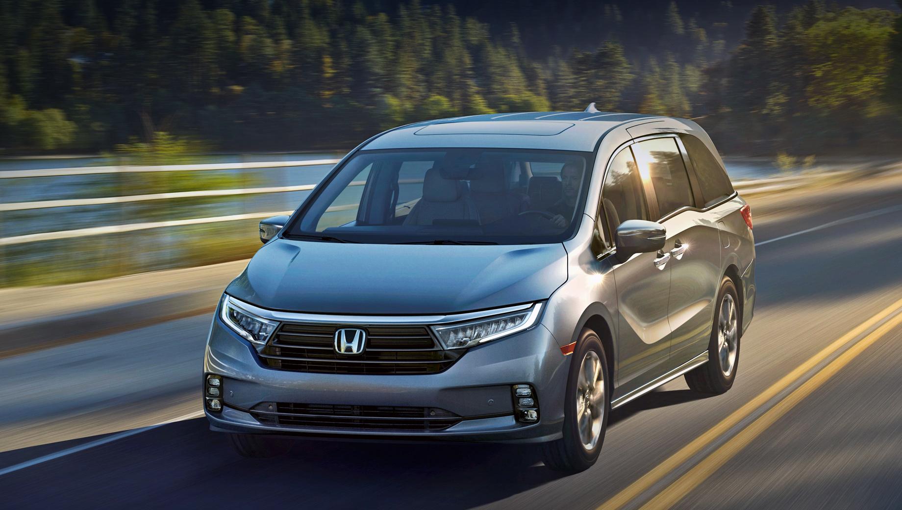 Обновленная Honda Odyssey