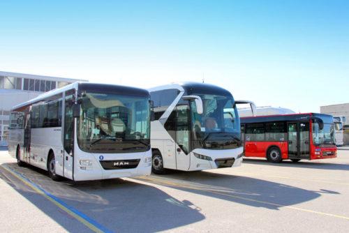 Турецкие автобусы марки MAN