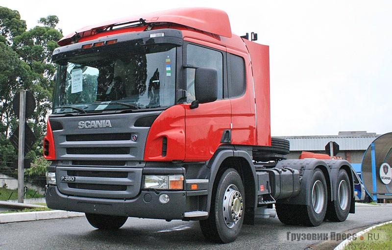 Тягач Scania Griffin из Бразилии