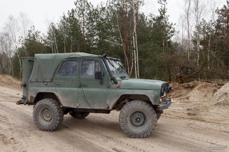 В Белоруссии УАЗ работает на дровах и прекрасно ездит!