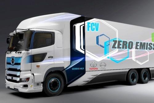 Водородный грузовик Hino