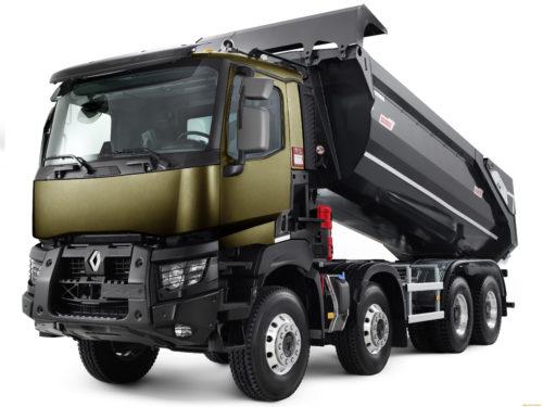 полноприводный самосвал Renault Trucks K 8x8