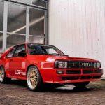 Audi Quattro превратили в 1000-сильный ралли-кар