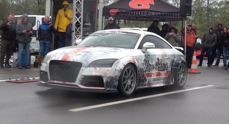 Audi TT RS с его до 1300 «лошадей» и 322,48 км/ч