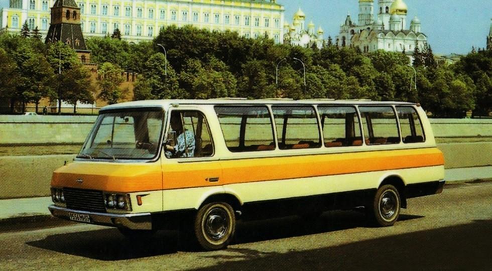 """Автобус ЗИЛ-118 """"Юность"""" возвращается"""