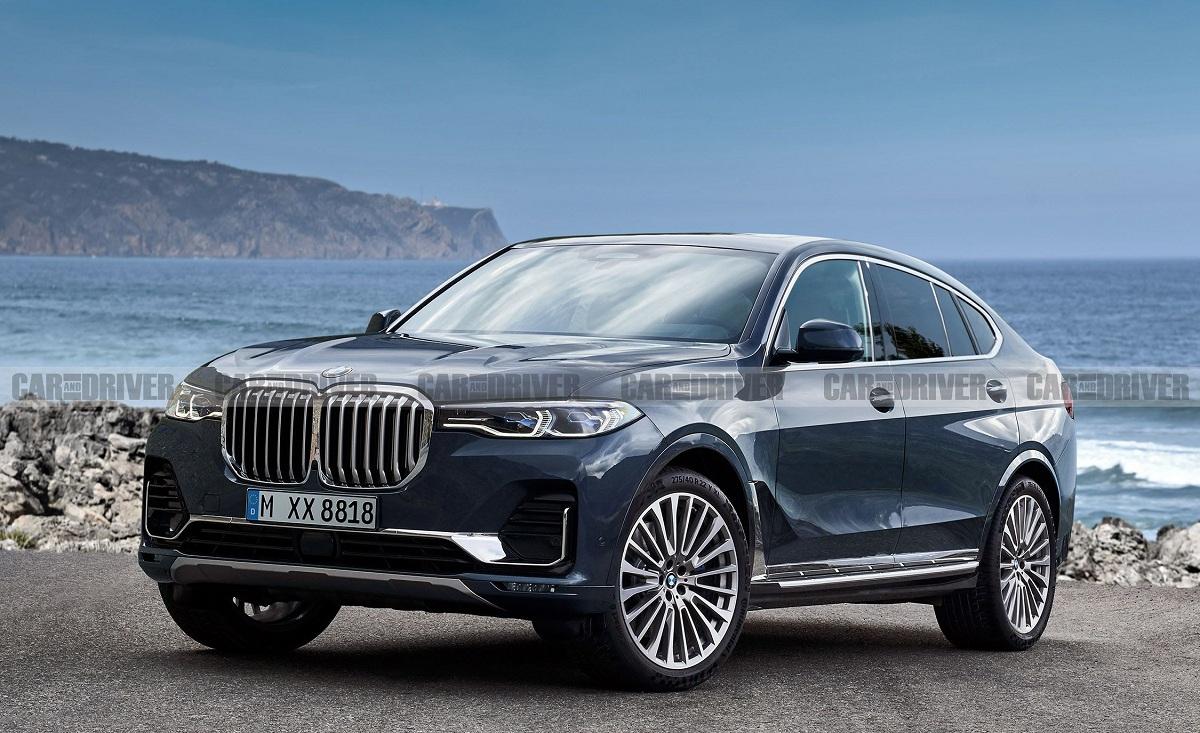 BMW X8 М претендует на звание самого мощного кроссовера