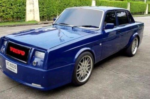 Бездарный тюнинг превращения Volvo 240 в Rolls-Royce
