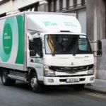 Электрические грузовики Fuso e Canter
