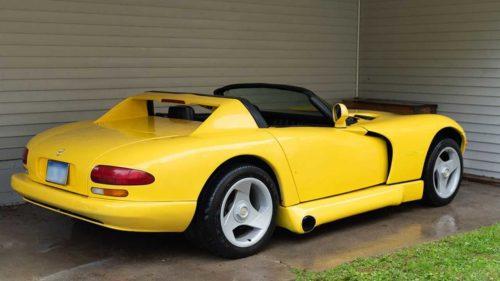 Гибрид двух культовых спорткаров – Chevrolet Corvette C4 и Dodge Viper RT10