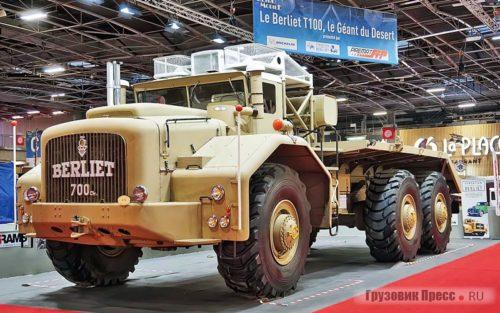 Грузовики-гиганты Berliet T 100