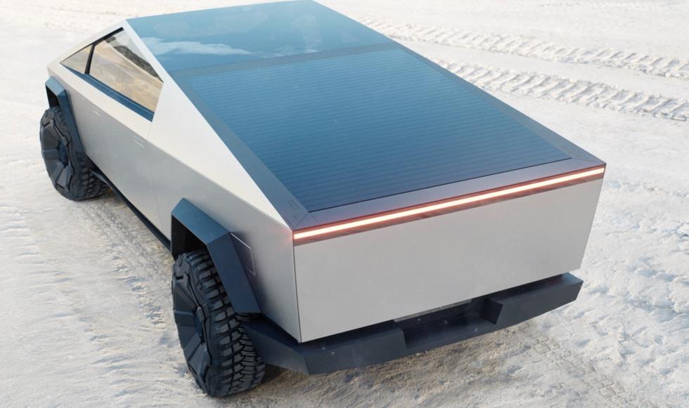 Илон Маск - пикап Tesla Cybertruck будет плавать