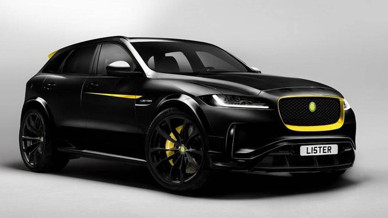 Jaguar F-Pace - быстрейший серийный кроссовер
