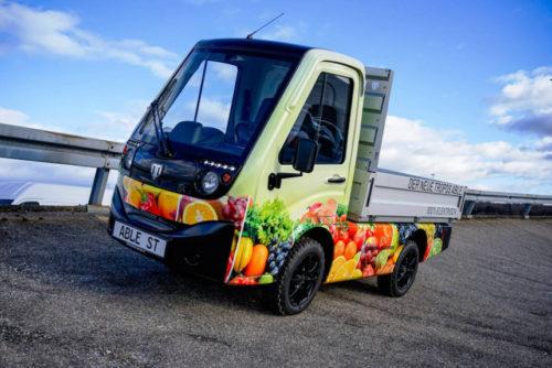 Китайские электрические мини-грузовички из Германии