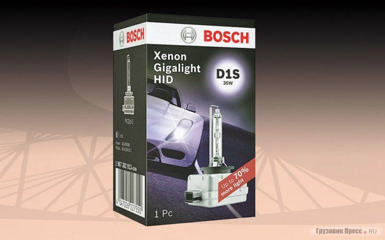 Компания Bosch улучшила эффективность ксеноновых ламп