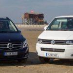 Mercedes-Benz Viano и и Volkswagen Multivan – мини-джипы и минивэны