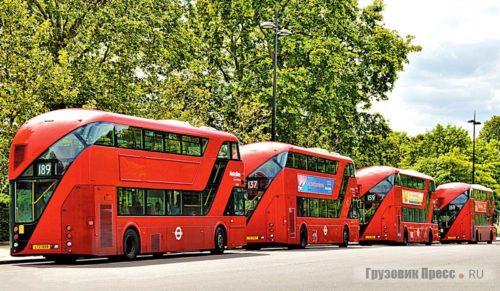 Московские эффективные менеджеры закупают у лондонских партнеров списанные и отремонтированные автобусы