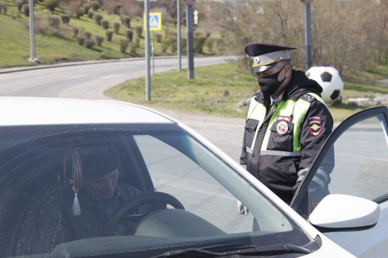 Правила общения с инспектором ГИБДД во время эпидемии