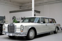 Раритетный Mercedes-Benz 600 Pullman с салоном от «Майбаха»