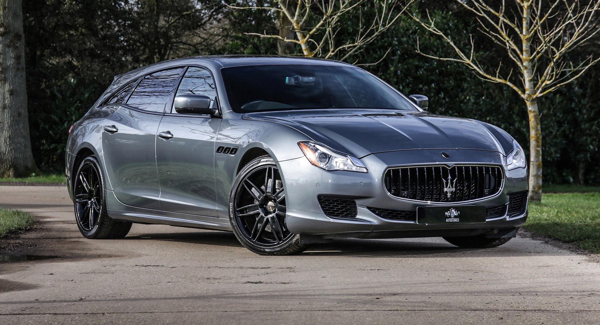 Уникальный универсал Maserati Quattroporte