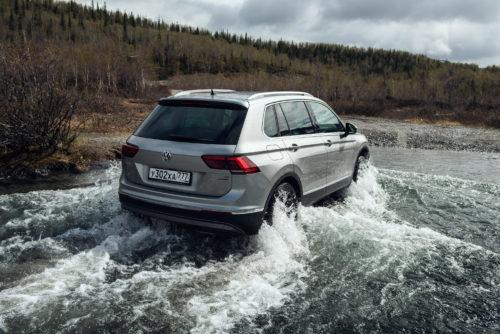 Volkswagen Tiguan станет гибридом